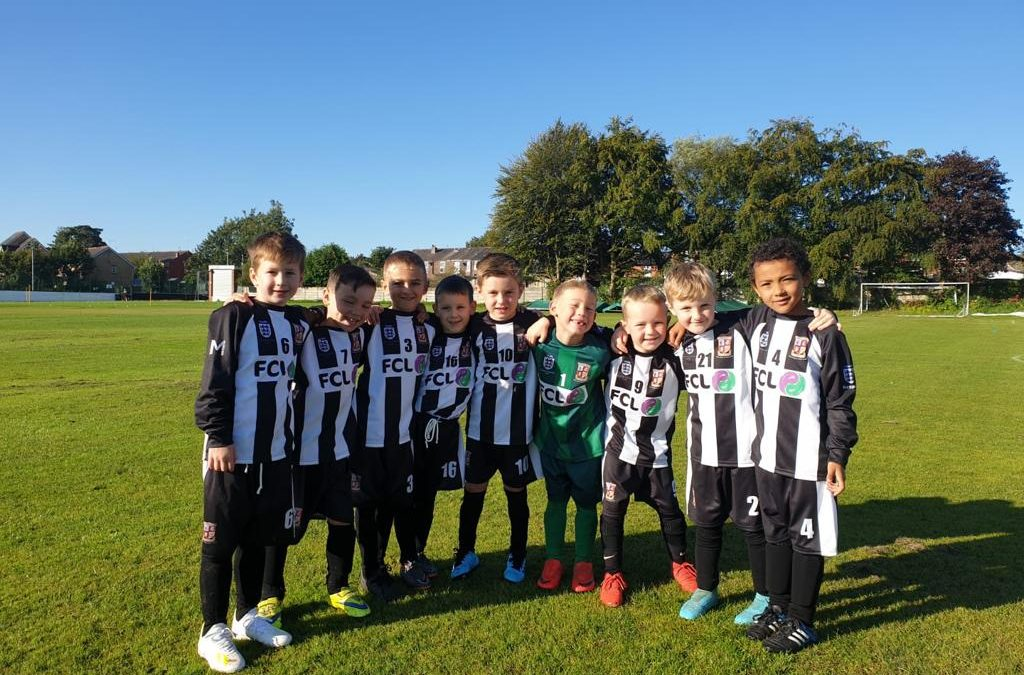 Walshaw Warriors Under 7s sponsored by Fostering Changes Life